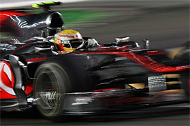 Lewis Hamilton, McLaren, Singapore GP