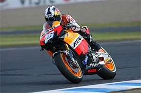 Dani Pedrosa, Motegi practiice
