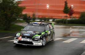 Ken Block, Monster Ford, France 2010