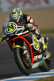 Toni Elias, Gresini Moriwaki, Motegi 2010