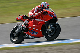 Stoner and Ducati are back on form
