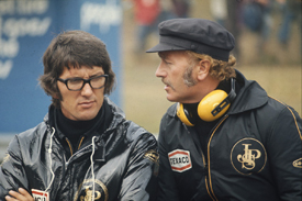 Peter Warr with Colin Chapman in 1973