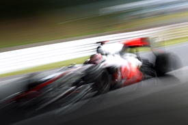 Jenson Button, McLaren, Suzuka