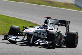 Nick Heidfeld, Sauber, Suzuka 2010