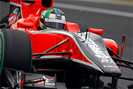 Lucas di Grassi, Virgin, Japanese GP