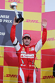 Fernando Alonso, Japan, 2010
