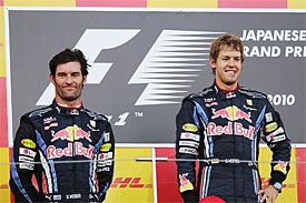 Mark Webber, Sebastian Vettel