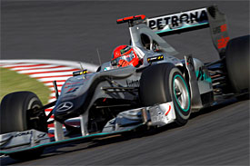 Michael Schumacher, Mercedes, Japanese GP