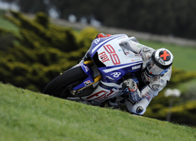 Jorge Lorenzo, Yamaha, Phillip Island 2010