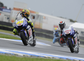Valentino Rossi, Yamaha, Phillip Island 2010