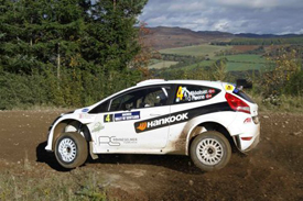 Andreas Mikkelsen, Hankook Ford, Scotland 2010