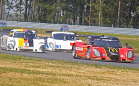 Grand-Am cars at New Jersey Motorsports Park