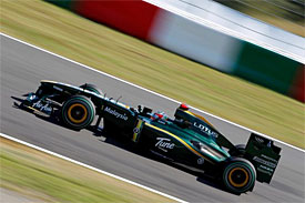 Jarno Trulli, Lotus, Japanese GP