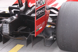 Ferrari's blown diffuser