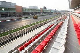 The Korean Grand Prix circuit