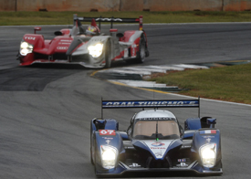 Peugeot and Audi at Petit Le Mans