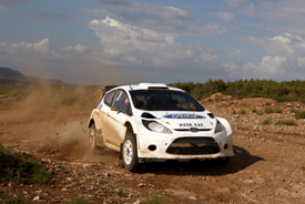 Ford Fiesta testing