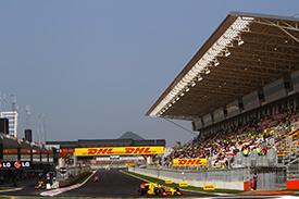 The Korean Grand Prix weekend is finally underway