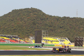 Mark Webber, Red Bull, Yeongam
