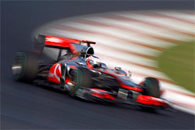 Jenson Button, McLaren, Korean GP