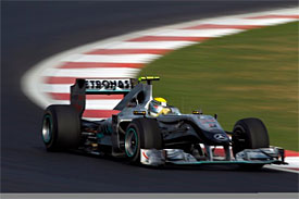 Nico Rosberg, Mercedes, Korean GP
