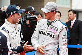 Rubens Barrichello, Michael Schumacher