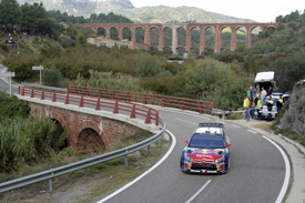 Sebastien Loeb, Citroen, Catalunya 2010
