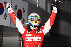 Fernando Alonso, Ferrari, Korean GP