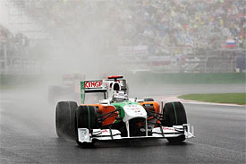 Adrian Sutil, Force India, Korean GP