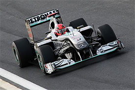Michael Schumacher, Mercedes, Korean GP