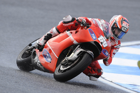 Nicky Hayden, Ducati, Estoril 2010