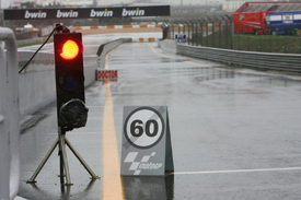 Rain at Estoril
