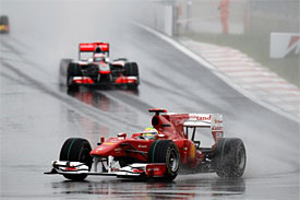 Felipe Massa during the Korean GP