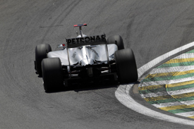 Michael Schumacher, Mercedes, Interlagos 2010