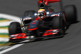 Lewis Hamilton, McLaren, Interlagos 2010