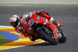 Casey Stoner, Ducati, Valencia 2010