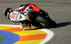 Jorge Lorenzo, Yamaha, Valencia 2010
