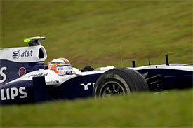 Nick Hulkebnerg, Williams, Brazilian GP