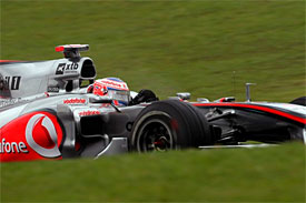 Jenson Button, McLaren, Brazilian GP