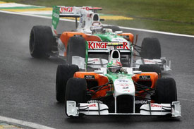 Vitantonio Liuzzi and Adrian Sutil