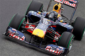 Sebastian Vettel, Red Bull, Brazilian GP