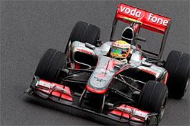 Lewis Hamilton, McLaren, Brazilian GP