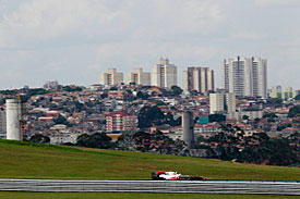 Interlagos with Sao Paulo backdrop