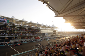 Abu Dhabi Grand Prix start 2009