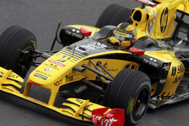 Robert Kubica, Renault, Interlagos 2010