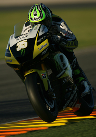Cal Crutchlow, Tech 3 Yamaha, Valencia testing