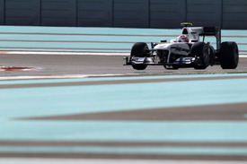 Kamui Kobayashi, Sauber, Abu Dhabi 2010