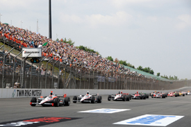 Motegi IndyCar race 2010