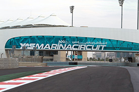 A crunch day at Yas Marina