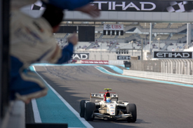Sergio Perez wins in Abu Dhabi